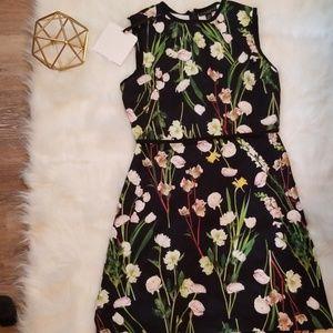 Victoria Beckham flower dress